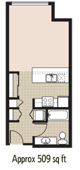 studio apartment 525 enclave northgate seattle wa luxury apartment homes