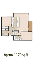 two bedroom two bath apartment 525 enclave northgate seattle wa luxury apartment homes