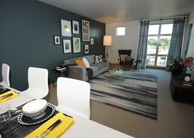 525 at the enclave one bedroom luxury apartment neighborhood community northgate seattle wa