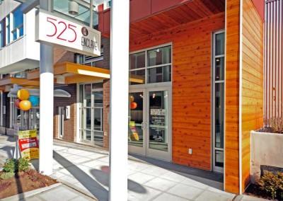 525 at the enclave luxury apartments neighborhood community northlake seattle wa entrance