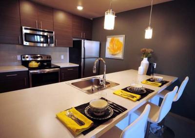 525 at the enclave luxury apartments neighborhood community northlake seattle wa gourmet kitchen